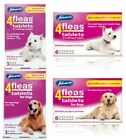 Johnson's 4 Fleas Tablets for Large & Small Dogs - Dog Flea Tablets