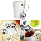 Tea Ball Strainer Infuser Stainless Steel Filter Squeezer Herb Leaf Spice Star y
