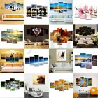 Modern Colorful Art Canvas Oil LED Painting Picture Print Home Wall Mural Decor