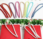 Fashion Pearl Necklace  8 mm Glass Pearl Beads Necklace Diy Jewelry Hot Sell