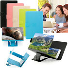 HD Screen Magnifier Amplifier Foldable Stand Case Apple iPhone Samsung HTC