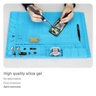 Blue Heat Insulation Silicone Mat Pad Repair Kit for Mobile Phone Computer