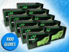 1000 PANTHER GRIP 6 MIL HEAVY DUTY GREEN TEXTURED NITRILE GLOVES - (CHOOSE SIZE)