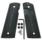Coolhand 1911 Full Size G10 Gun Grips Magwell Mag Release Ambi Cut H1M-J6MBPistol - 73944
