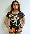 ATMZ Hieronymus Bosch Garden Earthly Delight Triptych Top T-Shirt All Over Print