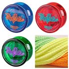 Duncan Reflex Yo Yo Original Classic Blue Red Green Auto Return + 3 Neon Strings