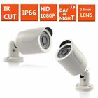 CCTV 4CH DVR HD 2.4MP 1080P OUTDOOR Camera Home Surveillance Security System Kit