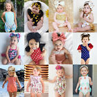 girl baby girl - USStock Newborn Baby Girl Floral Romper Bodysuit Jumpsuit Outfit Sunsuit Clothes