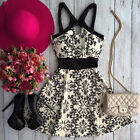 Usa Women Summer Casual Sleeveless Evening Party Beach Dress Short Mini Dress