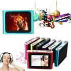"""NEW 6TH GENERATION MP3 MP4 MUSIC MEDIA PLAYER FM Games Movie 1.8"""" LCD SCREEN UP"""