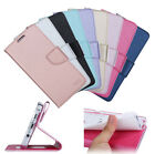 Luxury Flip PU Leather Card Holder Wallet Case Cover For iphone Huawei Samsung