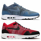 Nike Unisex Air Max 1 Ultra 2.0 Flyknit Trainers Gym Sport Running Red Blue