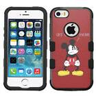 Mickey Mouse #Get Off My Phone Hybrid Case for iPhone SE/6/7/Plus/Galaxy S8/Plus