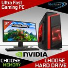 Ultra Fast Gaming Pc Bundle Intel Core I5 2400 16gb 1tb Hdd Windows 10 2gb Gt710