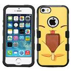 Pikachu Pokemon #CC Hybrid Armor Case for iPhone SE/6S/7/Plus/Galaxy S7/S8/Plus