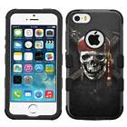 Caribbean Pirates #B Hybrid Armor Case for iPhone SE/6S/7/Plus/Galaxy S7/S8/Plus