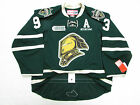 MITCH MARNER LONDON KNIGHTS AUTHENTIC GREEN OHL CCM EDGE 20 7287 HOCKEY JERSEY