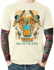 Swallow Worm Tequila T Shirt Funny Mexico Shots Mens Sizes Small to 6XL
