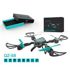 QZ S8 4CH 6 Axis Mini RC Quadcopter Helicopter Drone With 0.3MP WIFI Camera