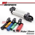 POLE 25mm CNC Adjustable Foot Pegs For Ducati Monster S4RS 2006-2008 06 07 08