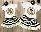 Kid Baby Girls Little Big Sister Matching Clothes Romper T-shirt Dress Outfit j