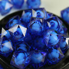 8 10 12mm Acrylic Faceted square Spacer Beads Jewelry Making Necklace & Bracelet