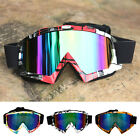 Cool Racing Motocross Motorcycle Dirt Bike Goggles Glasses Transparent