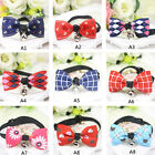 BG Adjustable Pet Cat Dog Collar Cute Bow Tie With Bell Puppy Puppy Tie Collar
