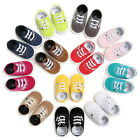 USA Infant Toddler Baby Boy Girl Soft Sole Crib Shoes Anti-Slip Sneaker 0-18M