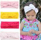 Baby Toddler Girls Bunny Rabbit Bow Knot Turban Headband Hair Band Accessories