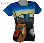 DALI Persistence of Memory Melting Soft Clock FINE ART PRINT T SHIRT Surrealism
