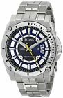 Bulova Precisionist Men's 96B131 Quartz Silver Tone Bracelet 46mm Watch image