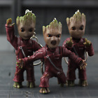 New Baby Groot Guardians of the Galaxy Vol. 2 Key Chain Alloy Keyring Pendant