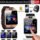Pop DZ09 Bluetooth Smart Watch Phone Mate GSM SIM For Android iPhone Samsung New