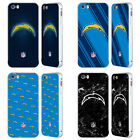 NFL 2017/18 LOS ANGELES CHARGERS SILVER SLIDER CASE FOR APPLE iPHONE PHONES