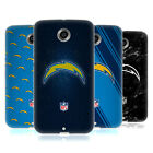 OFFICIAL NFL 2017/18 LOS ANGELES CHARGERS SOFT GEL CASE FOR MOTOROLA PHONES