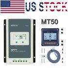 EPEVER MPPT 10A 20A 30A 40A Solar Charge Controller 12/24V Or Remote Meter MT50