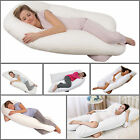 NEW U SHAPE BODY & BACK SUPPORT 12 FT MATERNITY PREGNANCY COMFORT PILLOW