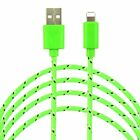 NEW 2M USB Charging Cable 6FT For Apple iPhone 6s Plus 6 Data Sync Charger- 4PK