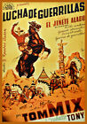 Movie POSTER.Western Cowboy.Spanish.Home Room decor Decor...