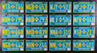 NEW MEXICO Centennial License Plate - TURQUOISE - Pick Your Plate