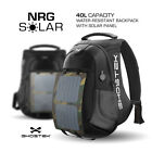 "Ghostek NRGsolar USB Charging Port 15.6"" Laptop Backpack Bag Water Resistant"