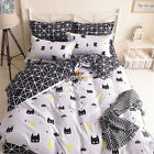 Batman Duvet Covers Quilt Cover Reversible Bedding Sets Double King Single Size