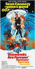 Diamonds Are Forever - 1971 - Movie Poster $14.99 USD on eBay