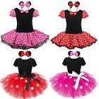 baby girl minnie mouse costume - Girls Baby Toddler Minnie Mouse Xmas Outfit Party Fancy Tutu Dressing up Costume
