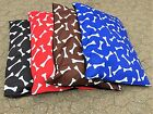 DOG BED REMOVABLE ZIPPED COVER LARGE SIZE WASHABLE PET BED CUSHION & COVER