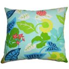 Bay Isle Home Roseland Floral Outdoor Linen Throw Pillow Cover