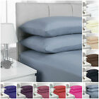 200 THREAD COUNT FITTED ANTI-CREASE SHEETS  SIZES SINGLE/DOUBLE/KING/SUPER KING
