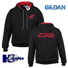 New Mens Honda VFR Tribute Contrast Hoodie Hooded Top Sizes Small to 2XL