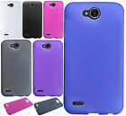 For LG X Charge Frosted TPU CANDY Gel Flexi Skin Case Cover Accessory